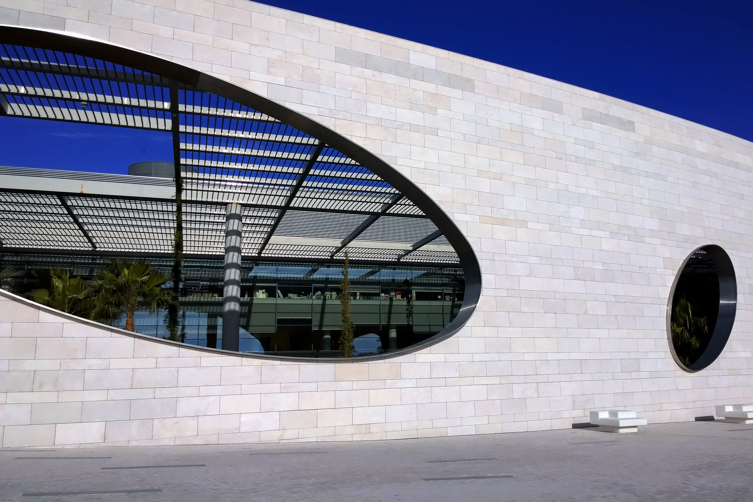 Champalimaud Center in Lisboa by Charles Correa